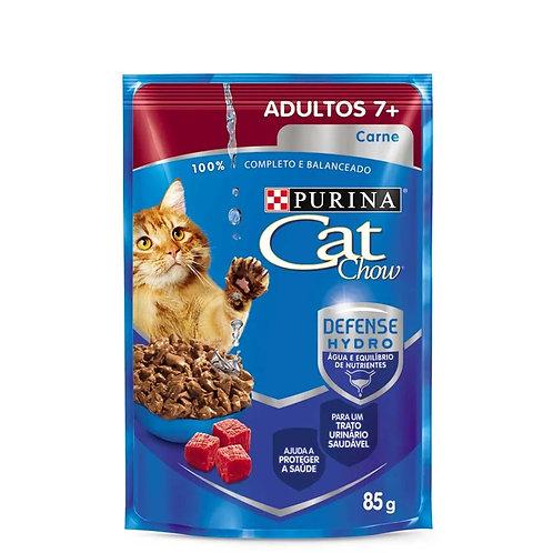 Alimento Úmido Cat Chow Adultos 7+ Carne