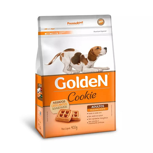 Biscoito Golden Cookie Cães Adultos de Raças Pequenas 400gr