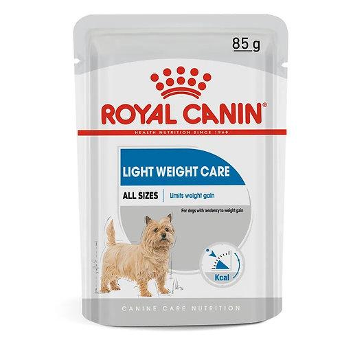 Alimento Úmido Royal Canin Cães Adultos Light Weight Care 85g