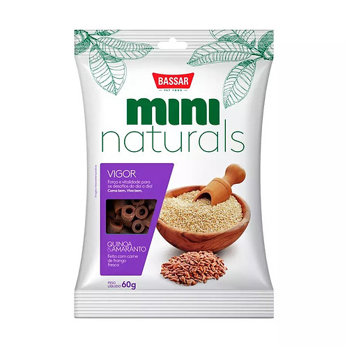 Snacks Bassar Mini Naturals Vigor Quinoa & Amaranto