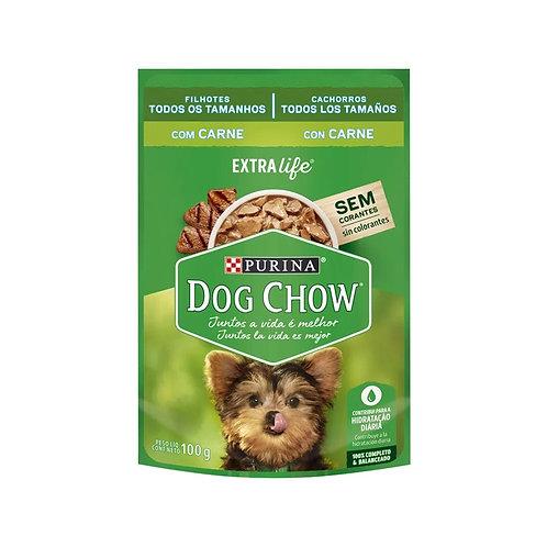 Alimento Úmido Dog Chow Cães Filhotes Carne 100g