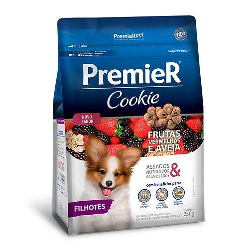 Petisco Premier Cookie Cães Filhotes Frutas Vermelhas e Aveia