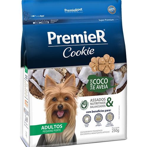 Petisco Premier Cookie Cães Adultos Coco e Aveia