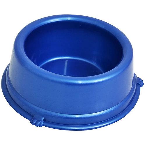 Comedouro Plástico Cães Azul Triton Dog 1 Litro