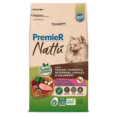 Ração Premier Nattu Cães Adultos Mandioca Pequeno Porte (291399 / 291421)