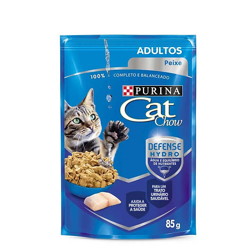 Alimento Úmido Cat Chow Adulto Peixe