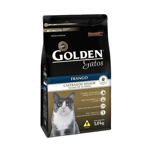 Ração Golden Gatos Castrados Sênior Frango (257100 / 257101)