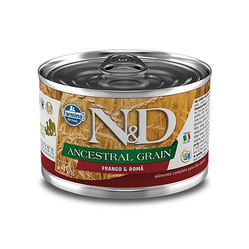 Alimento Úmido N&D Canine Ancestral Grain Frango e Romã