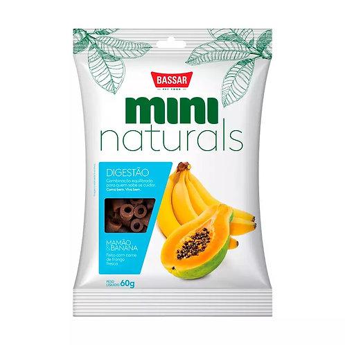 Snacks Bassar Mini Naturals Digestão Mamão & Banana