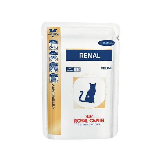 Alimento Úmido Royal Canin Gatos Renal (253807)