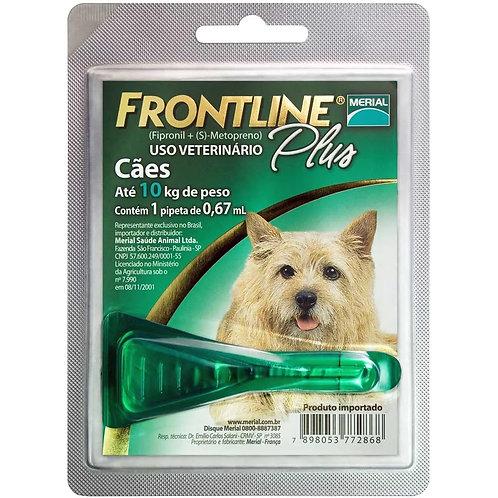 Antipulgas e Carrapatos Frontline Plus para Cães de até 10kg