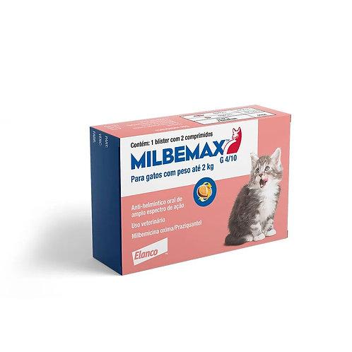 Vermífugo Milbemax G Gatos Elanco 0,5 a 2kg (323074)