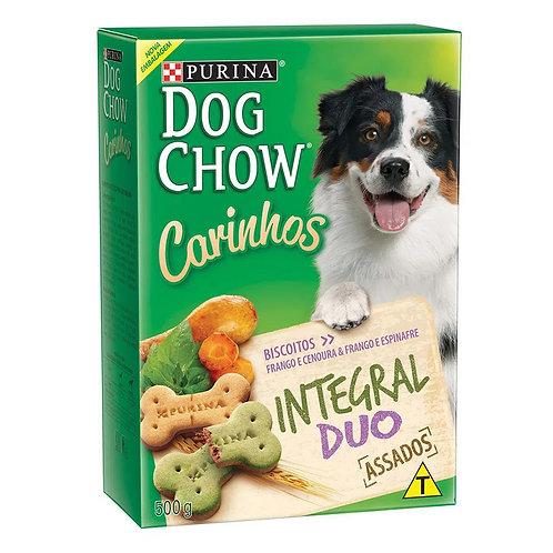 Biscoito Dog Chow Carinhos Integral Duo Raças Médias e Grandes