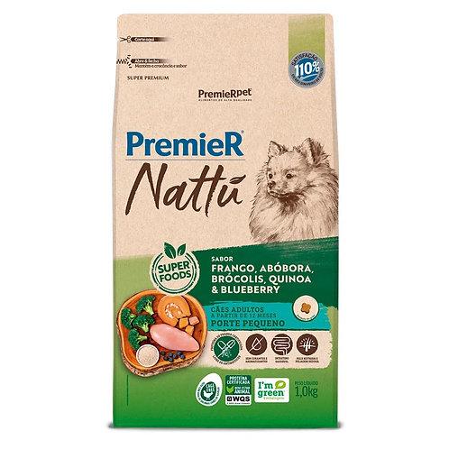Ração Premier Nattu Cães Adultos Abóbora Pequeno Porte