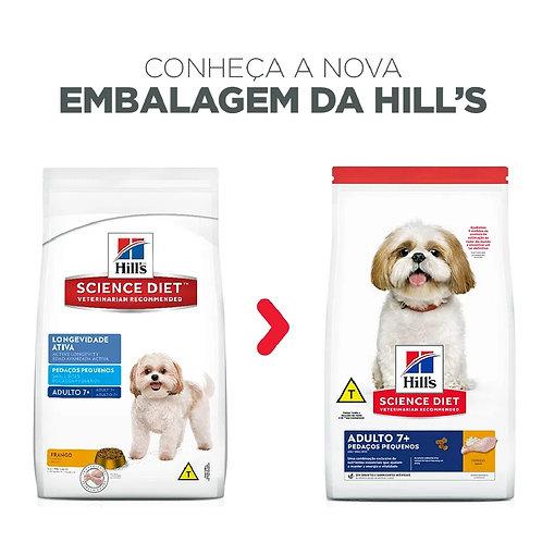 Ração para Cães Adultos 7+ Hill's Pedaços Pequenos (321266 /324939)