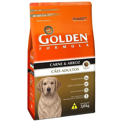 Ração para Cães Adultos Golden Fórmula Carne e Arroz (257076)