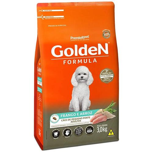 Ração para Cães Adultos Raças Pequenas Golden Fórmula Frango e Arroz