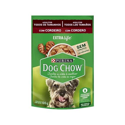 Alimento Úmido Dog Chow Cães Adultos Mini e Pequenos Cordeiro 100g