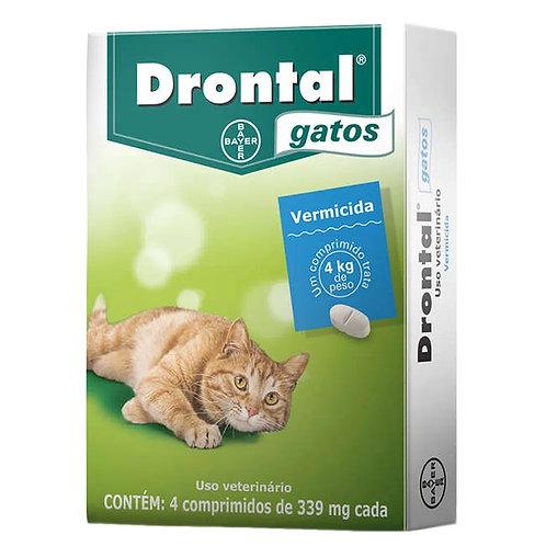 Vermífugo Drontal Gatos Blister Bayer