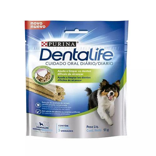 Petisco DentaLife Cão Adulto Médio
