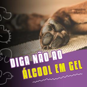 Diga não ao Alcool em Gel!!!