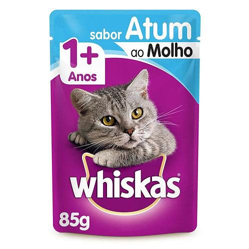 Alimento Úmido Whiskas Pedaços ao Molho Atum (263841)