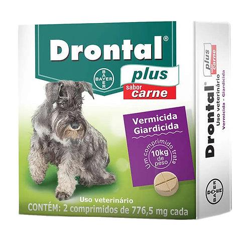 Vermífugo Drontal Plus Sabor Carne até 10kg Bayer (259874 / 259895)