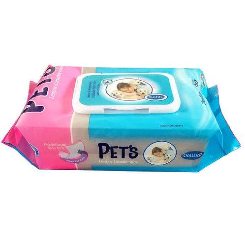 Lenços Umedecidos American Pets - 80 Toalhas (256045)