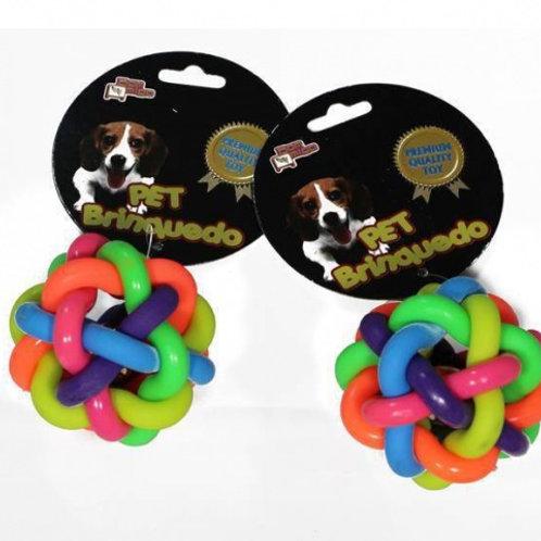 Bola Colors Trançada Cachorros Bom Amigo