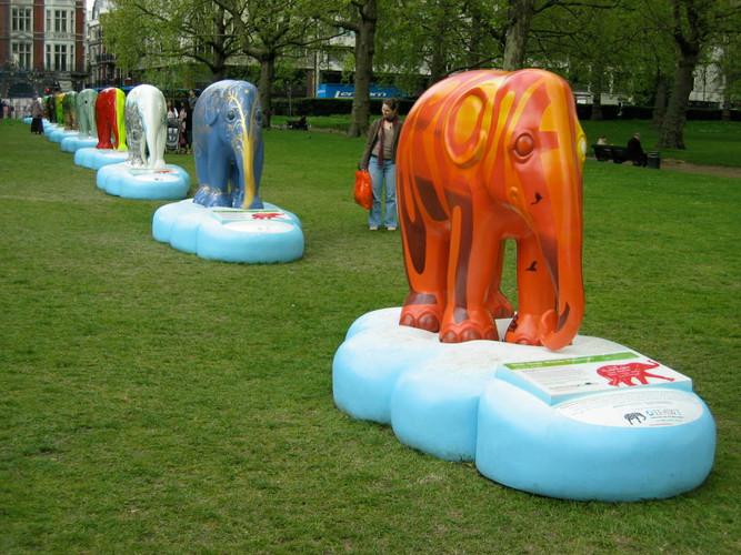 Elephant Parade : IFAW commission