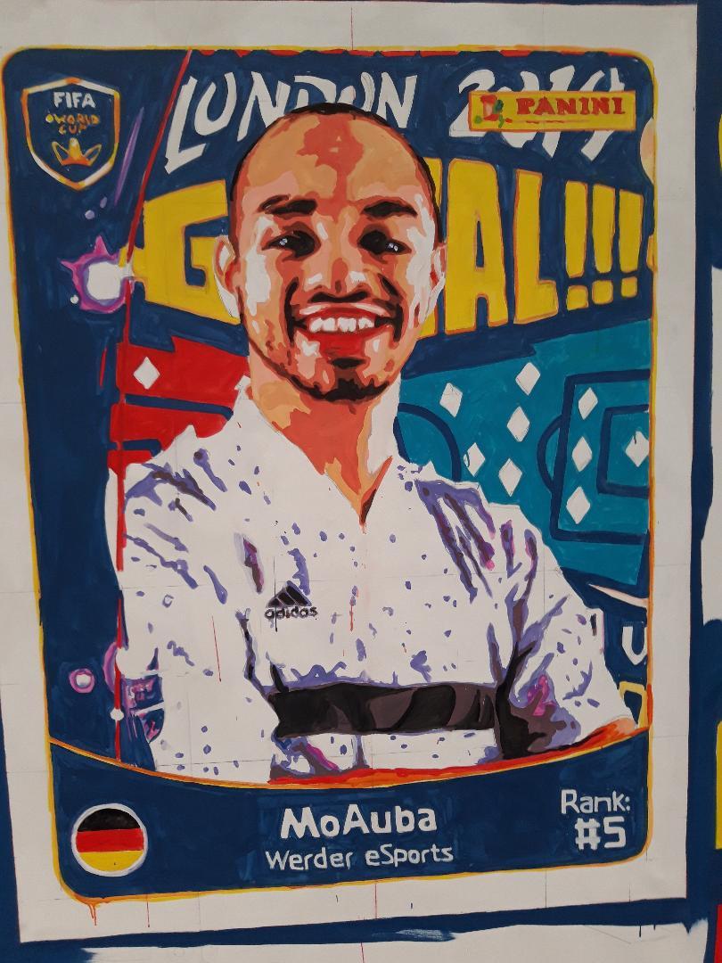 Fifa E World Cup O2  Mo Auba