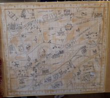 Treasure Hunt Map : 153cm x 153cm