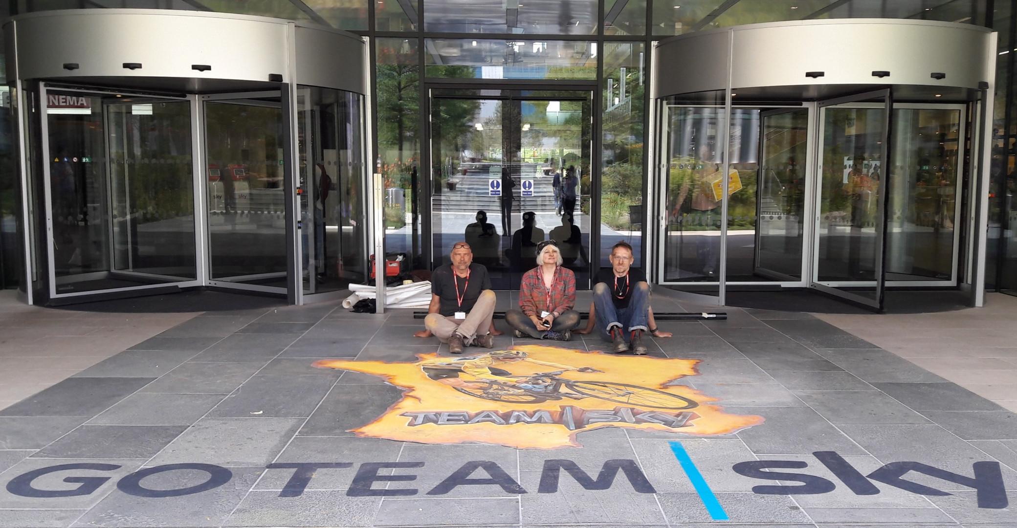 Team Sky (Tour de France 2018) : Sky Head Offices