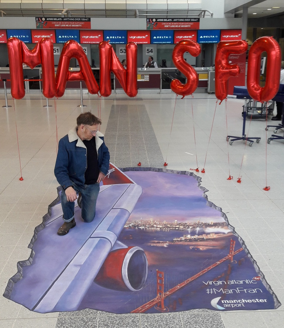 Virgin Airlines ManFran Promo