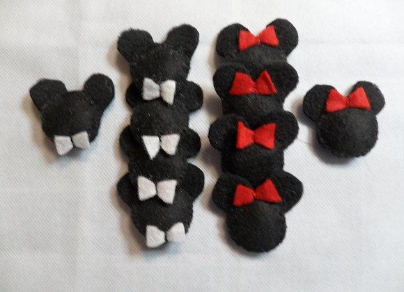 Jogo da Velha - Mickey e Minnie