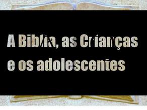 A importancia da leitura da Bíblia quando criança
