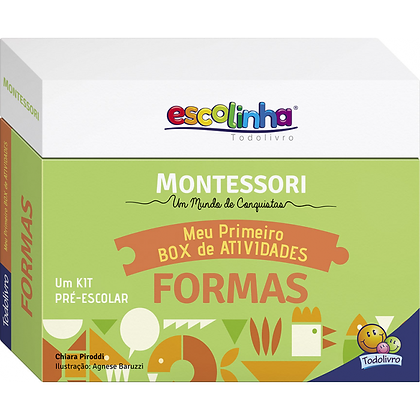 Kit Monstessori: cores, emocoes, formas
