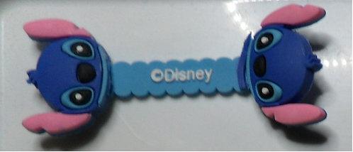 Prendedor  AZUL CLARO de cabo/fone de ouvido -  Disney 1
