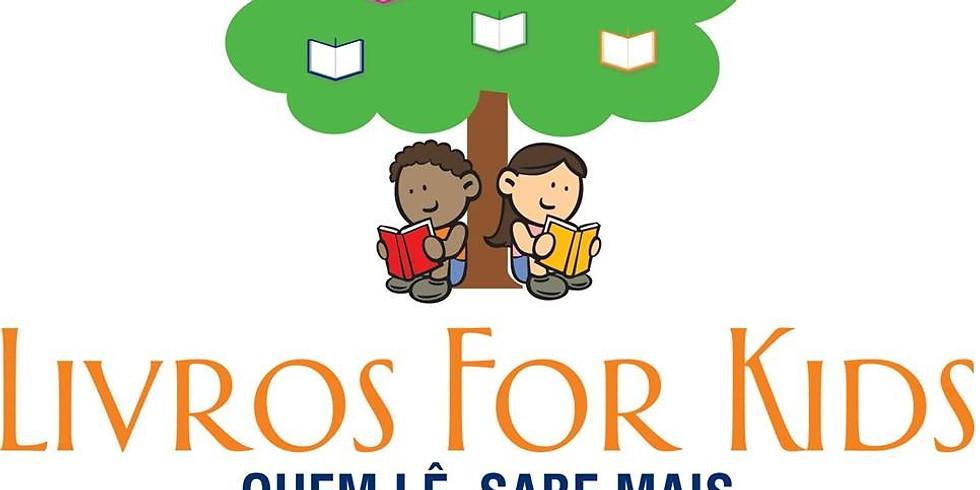 Livros for Kids na torcida pelo Brasil!