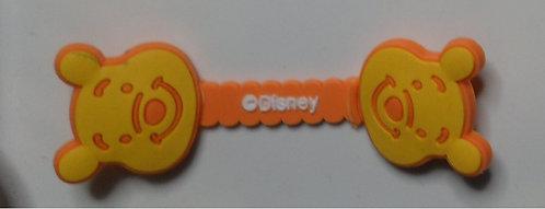Prendedor  AMARELO de cabo/fone de ouvido -  Disney 1