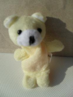 Fantoche de dedo - urso