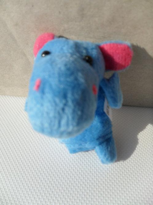 Fantoche de dedo - hipopótamo