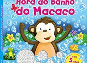 Hora do banho do Macaco - ABAS E AVENTURAS