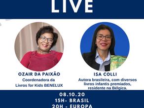 Salve a data 08 de outubro - Live com Isa Colli