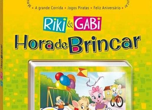 Riki e Gabi - Hora de Brincar