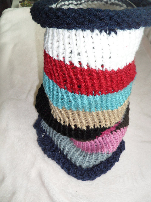 Cachecol tubo em tricot