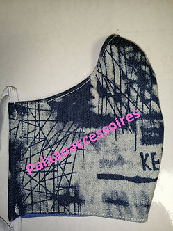 Jeans - Máscara (ADULTO) higiênica