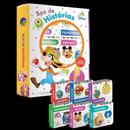 BOX DE HISTÓRIAS - ESCOLINHA BOX C/6 UND