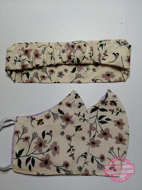 Kit Primavera - faixa de cabelo e proteção
