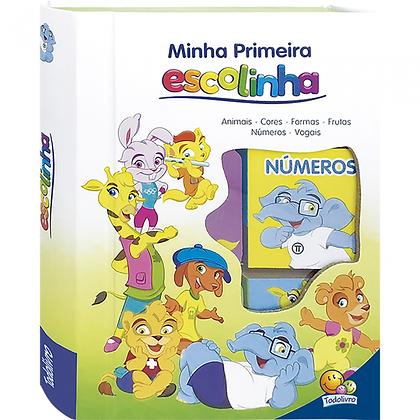 MINHA PRIMEIRA ESCOLINHA - ESCOLINHA BOX C/6 UND